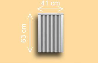 radiateur électrique SD 100 / SD 125