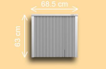 radiateur électrique SD 150 / SD 200