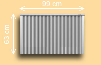 radiateur électrique SD 250 / SD 300